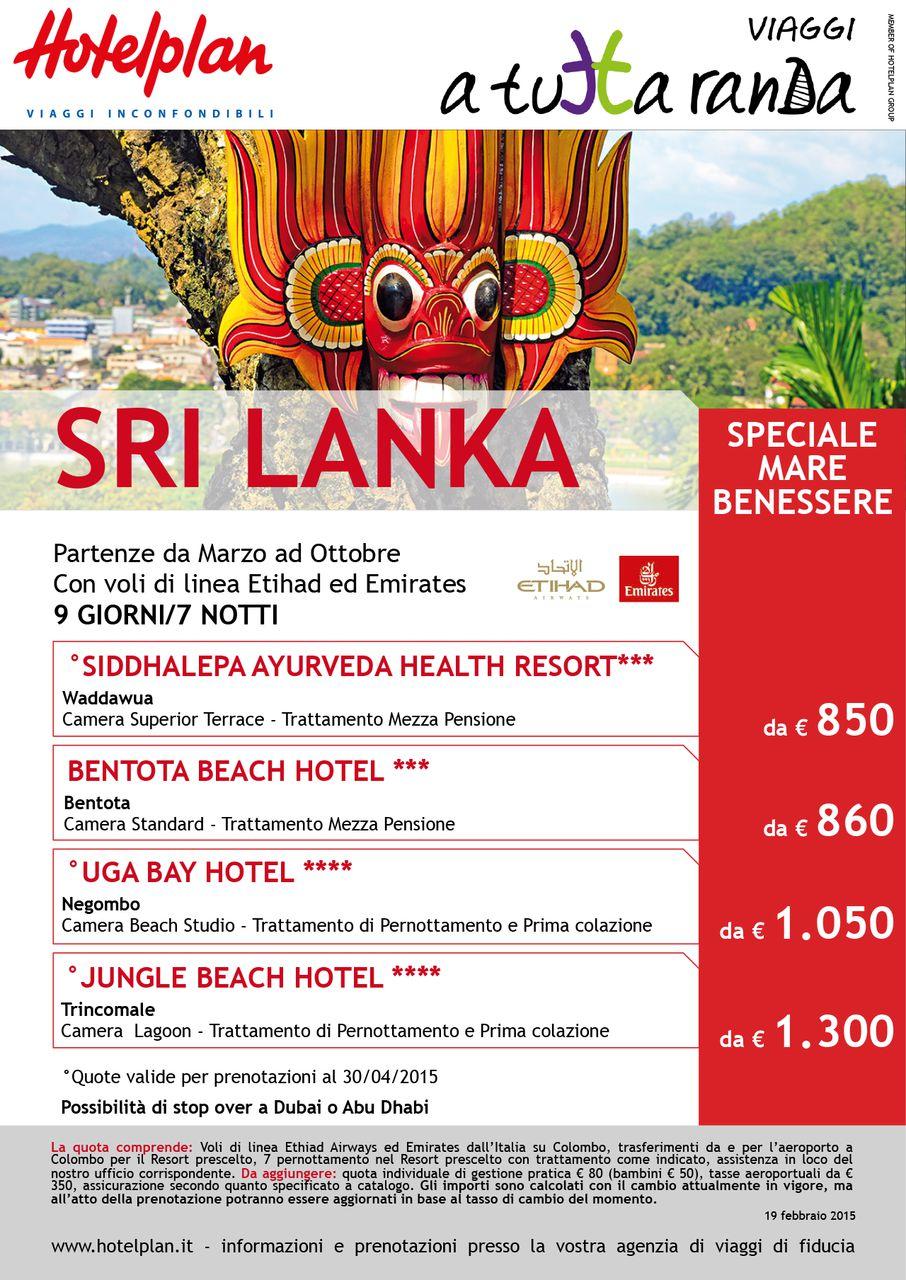 Sri Lanka, mare e benessere