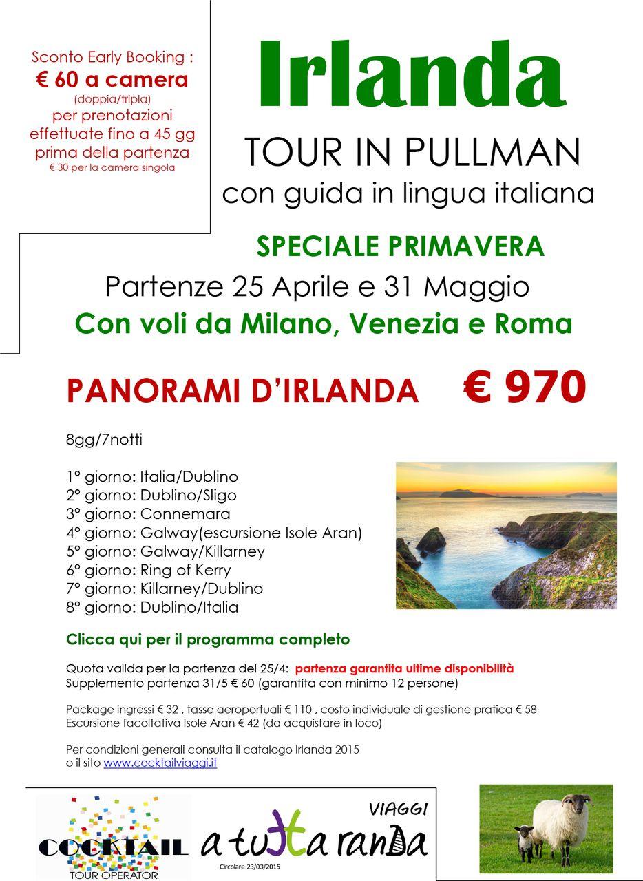 Tour in Irlanda