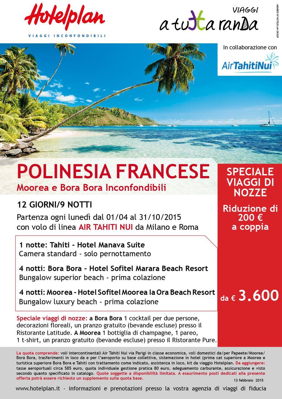 Polinesia – Speciale Sposi