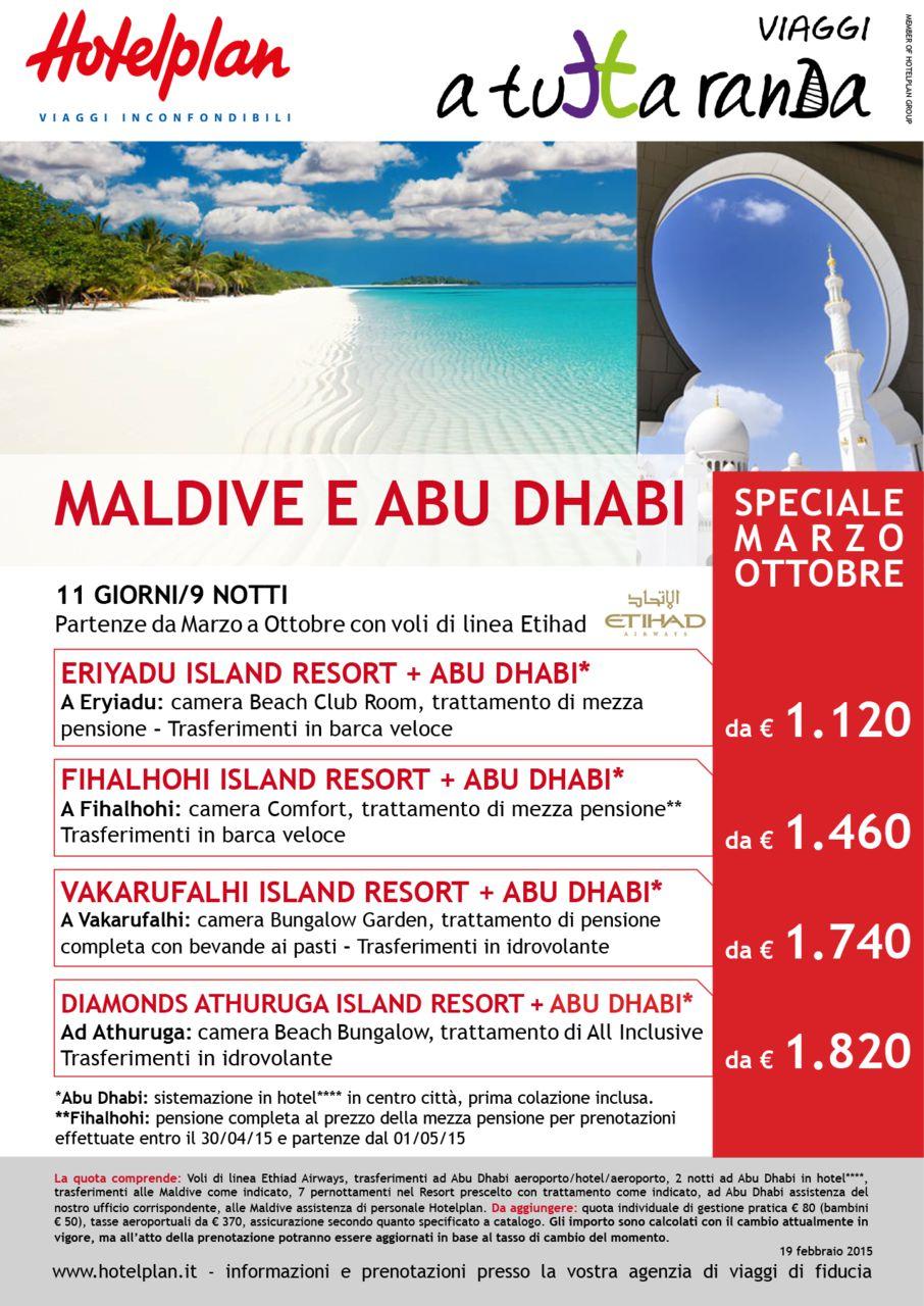Maldive e Adu Dhabi