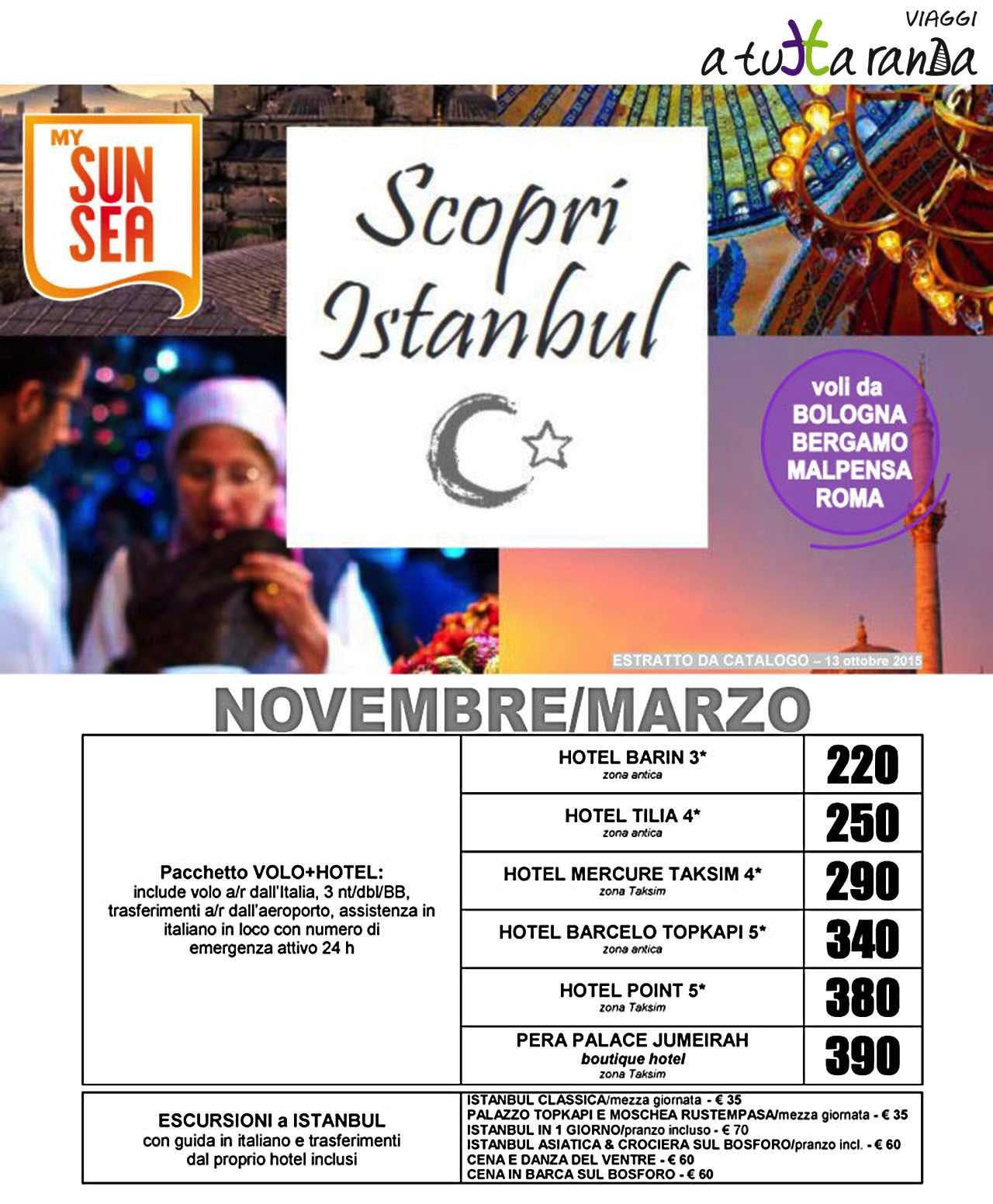 Istanbul da scoprire!